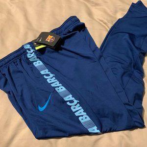 NWT Nike FC Barcelona Dry Soccer Pants Sz Large